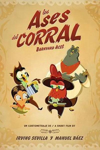 Caratula, cartel, poster o portada de Los ases del corral