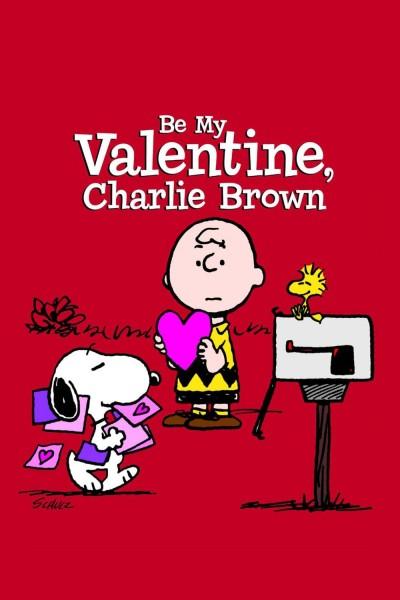 Caratula, cartel, poster o portada de Sé mi tarjeta del día de San Valentín, Charlie Brown