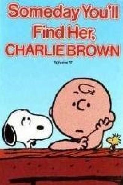 Caratula, cartel, poster o portada de Algún día la encontrarás, Charlie Brown