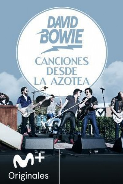 Caratula, cartel, poster o portada de Canciones desde la azotea: David Bowie
