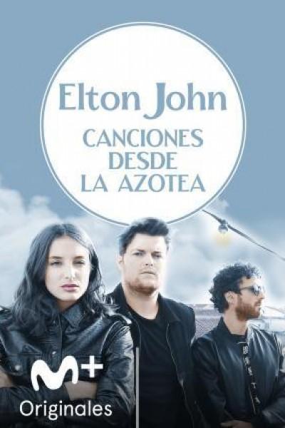 Caratula, cartel, poster o portada de Canciones desde la azotea: Elton John