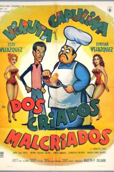 Caratula, cartel, poster o portada de Dos criados malcriados