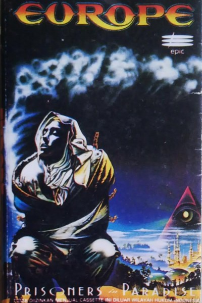 Caratula, cartel, poster o portada de Europe: Prisoners in Paradise (Vídeo musical)