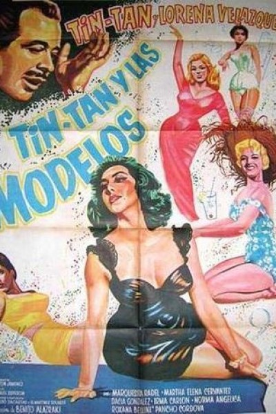 Caratula, cartel, poster o portada de Tin Tan y las modelos