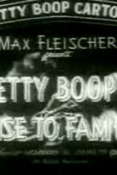 Caratula, cartel, poster o portada de Betty Boop\'s Rise to Fame