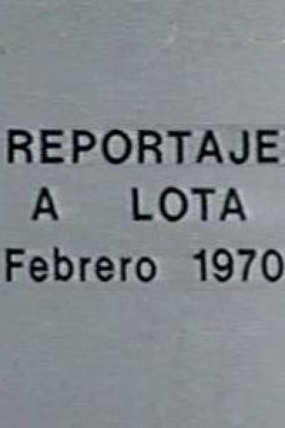 Caratula, cartel, poster o portada de Reportaje a Lota