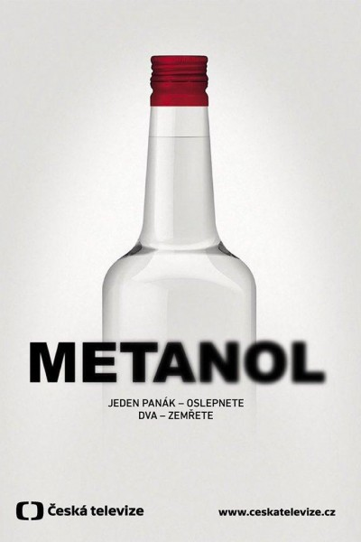 Caratula, cartel, poster o portada de Metanol: El líquido de la muerte