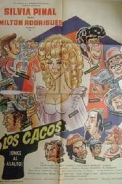 Caratula, cartel, poster o portada de Los cacos