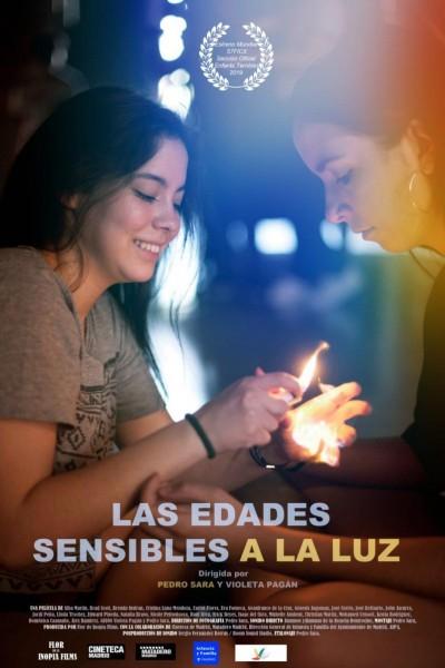 Caratula, cartel, poster o portada de Las edades sensibles a la luz