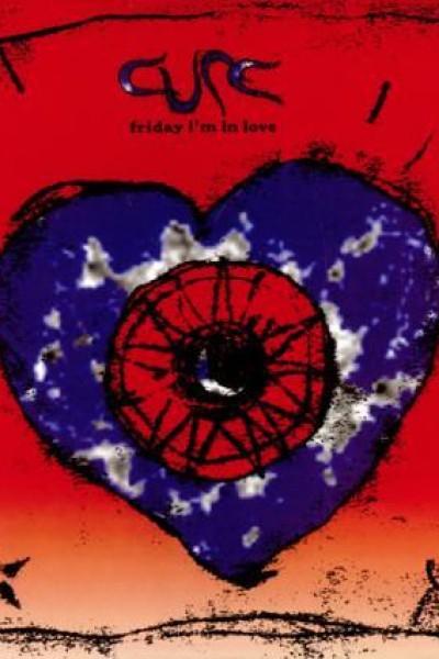 Caratula, cartel, poster o portada de The Cure: Friday I\'m in Love (Vídeo musical)
