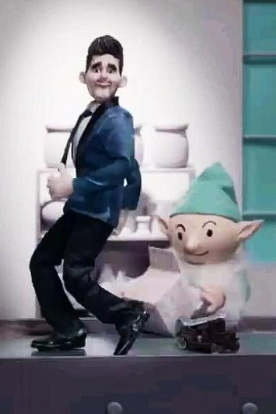 Caratula, cartel, poster o portada de Michael Bublé: White Christmas (Vídeo musical)