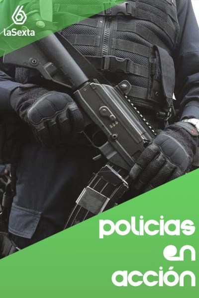 Caratula, cartel, poster o portada de Policías en acción