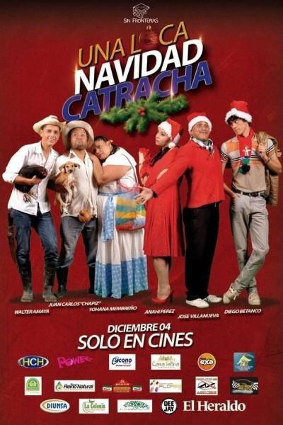 Caratula, cartel, poster o portada de Una loca navidad catracha