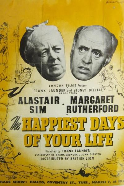 Caratula, cartel, poster o portada de ¡Aquellos días tan felices!