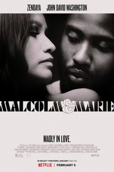 Caratula, cartel, poster o portada de Malcolm & Marie