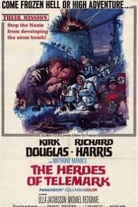 Caratula, cartel, poster o portada de Los héroes de Telemark
