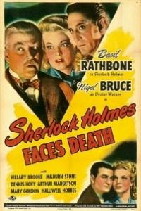 Caratula, cartel, poster o portada de Sherlock Holmes desafía a la muerte (Desafiando la Muerte)