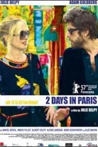 Caratula, cartel, poster o portada de 2 días en París