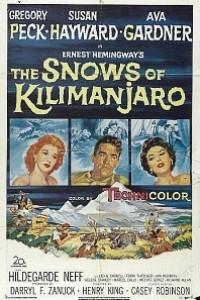 Caratula, cartel, poster o portada de Las nieves del Kilimanjaro