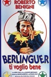Caratula, cartel, poster o portada de Berlinguer, te quiero