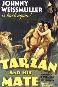 Caratula, cartel, poster o portada de Tarzán y su compañera
