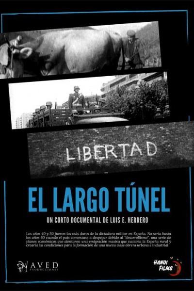 Caratula, cartel, poster o portada de El largo túnel