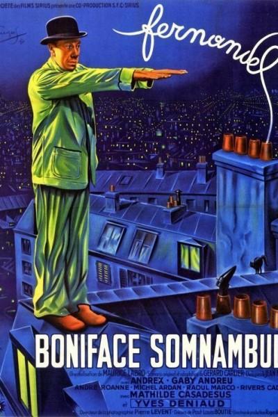 Caratula, cartel, poster o portada de Boniface somnambule