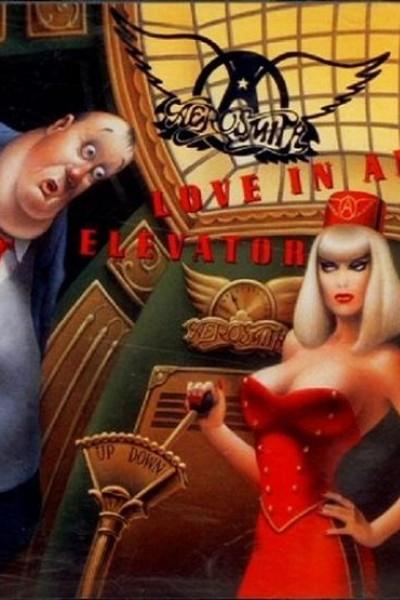 Caratula, cartel, poster o portada de Aerosmith: Love in an Elevator (Vídeo musical)