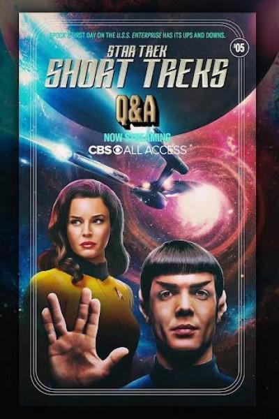 Caratula, cartel, poster o portada de Star Trek: Q&A (Ep)