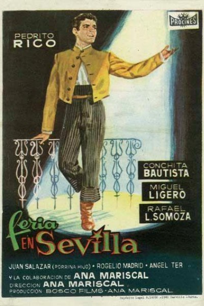 Caratula, cartel, poster o portada de Feria en Sevilla