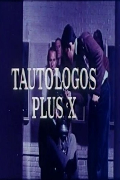 Caratula, cartel, poster o portada de Tautólogos plus X