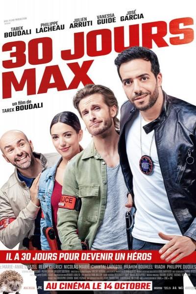 Caratula, cartel, poster o portada de 30 jours max