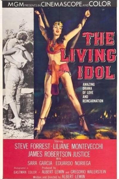 Caratula, cartel, poster o portada de El ídolo viviente