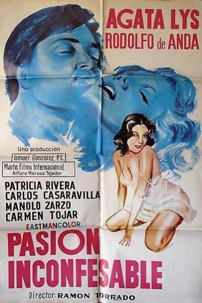 Caratula, cartel, poster o portada de Pasión inconfesable