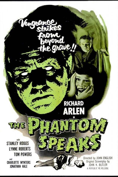 Caratula, cartel, poster o portada de The Phantom Speaks