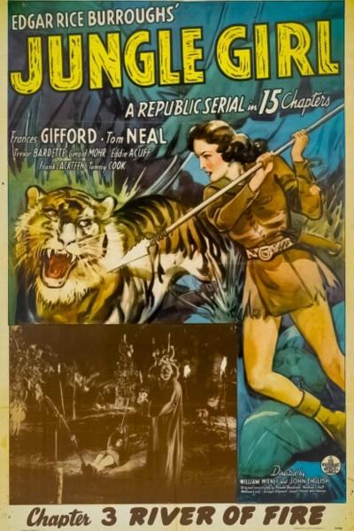 Caratula, cartel, poster o portada de En la selva del terror