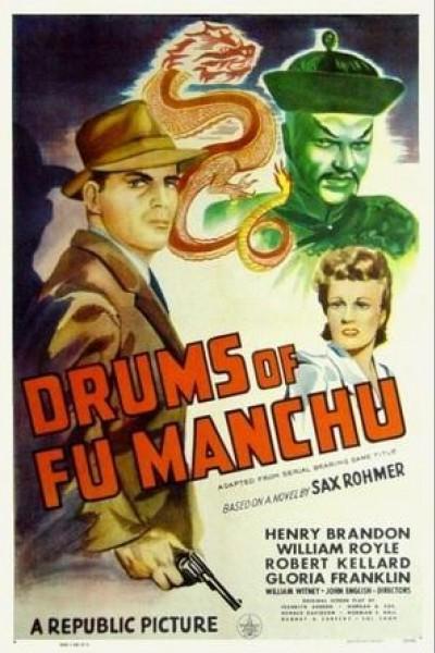 Caratula, cartel, poster o portada de Drums of Fu Manchu