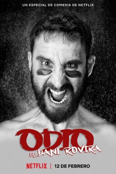 Caratula, cartel, poster o portada de Odio, de Dani Rovira