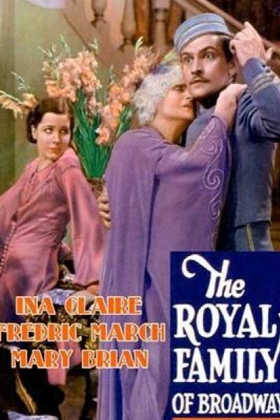 Caratula, cartel, poster o portada de The Royal Family of Broadway