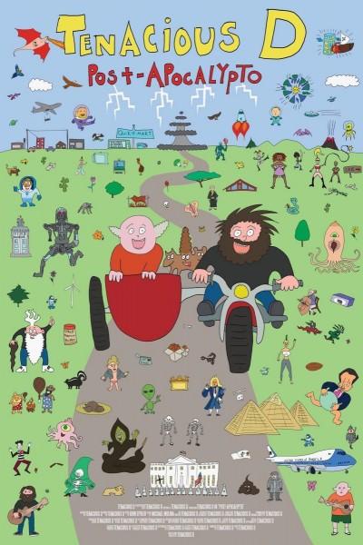 Caratula, cartel, poster o portada de Tenacious D: Post-Apocalypto