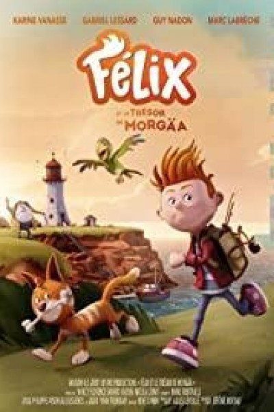 Caratula, cartel, poster o portada de Félix et le trésor de Morgäa