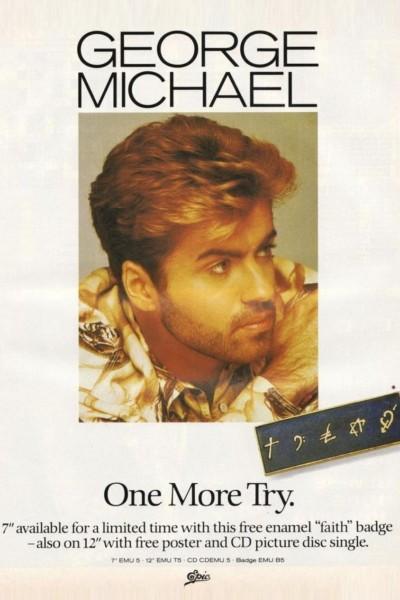 Caratula, cartel, poster o portada de George Michael: One More Try (Vídeo musical)