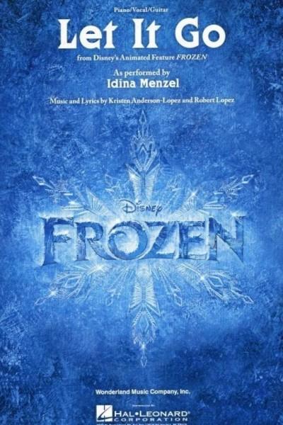 Caratula, cartel, poster o portada de Idina Menzel: Let It Go (Vídeo musical)