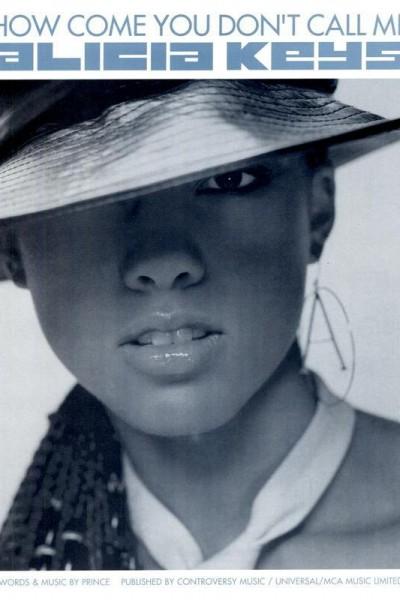 Caratula, cartel, poster o portada de Alicia Keys: How Come You Don\'t Call Me (Vídeo musical)