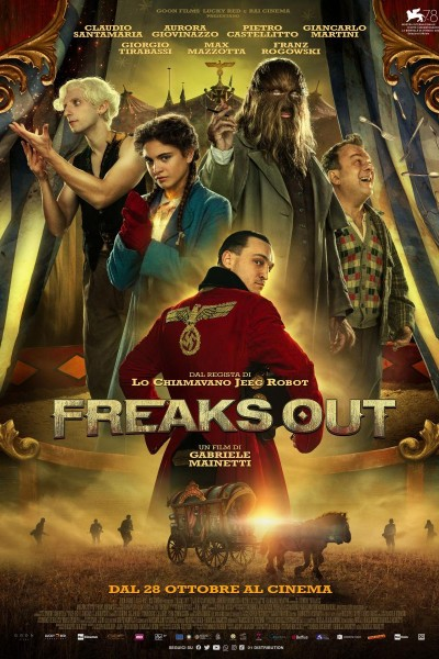 Caratula, cartel, poster o portada de Freaks Out