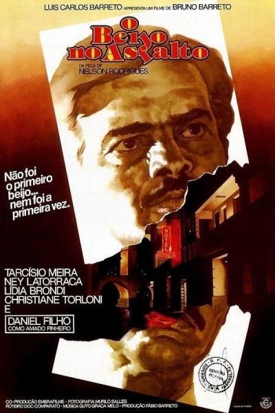 Caratula, cartel, poster o portada de O Beijo No Asfalto