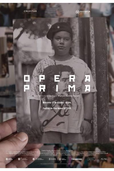 Caratula, cartel, poster o portada de Ópera prima