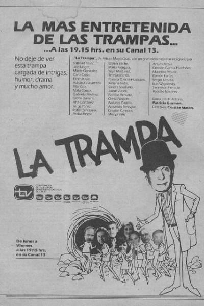 Caratula, cartel, poster o portada de La trampa