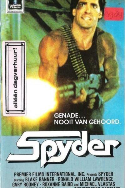 Caratula, cartel, poster o portada de Spyder, la trampa de azucar
