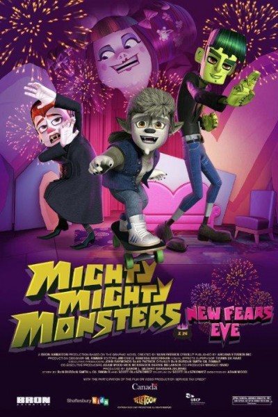 Caratula, cartel, poster o portada de Mighty Mighty Monsters in New Fears Eve